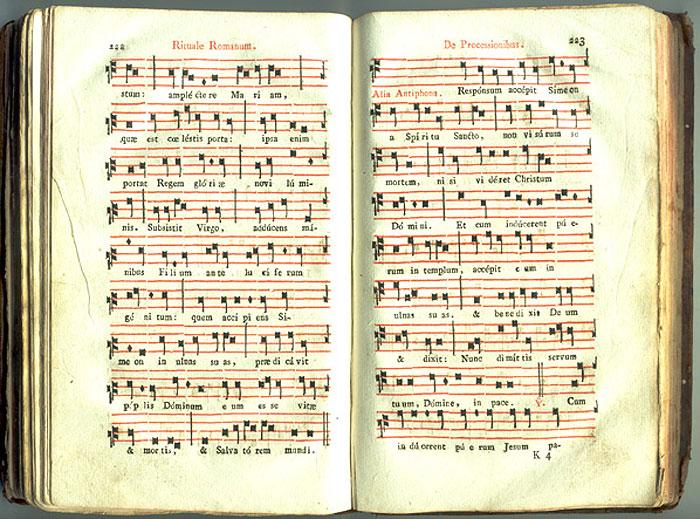Catholic Missal - Other pages from the missal.