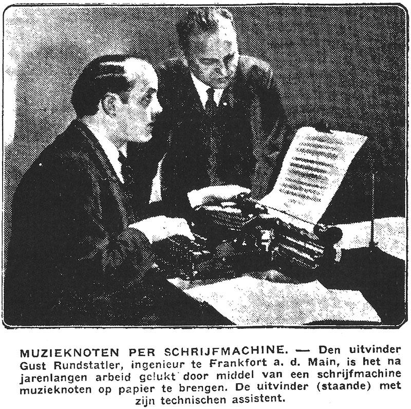 From the Algemeen Handelsblad, September 9, 1931