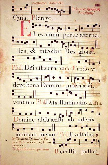 Manuscript - A page from a manuscript book.