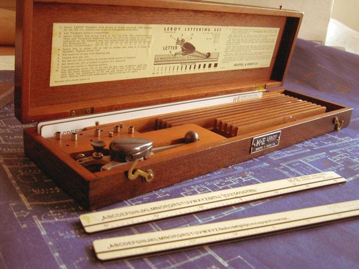 Leroy Lettering Instrument