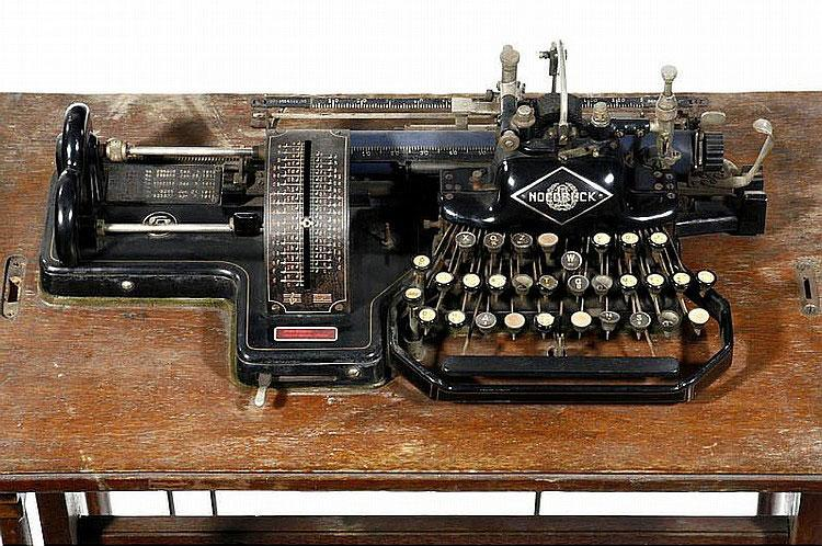 Nocoblick Music Typewriter - image from an auction
