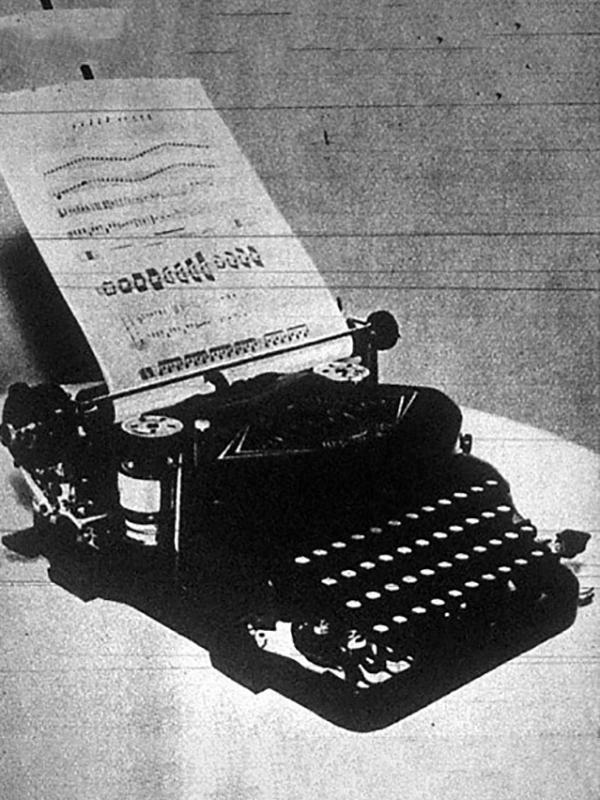 This image of Rundstatler's machine is from a July 1937 Hungarian publication.