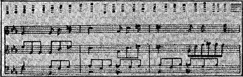 Typewritten Music